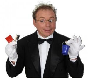 Comedykellner bei Ihrem geburtstagsfest