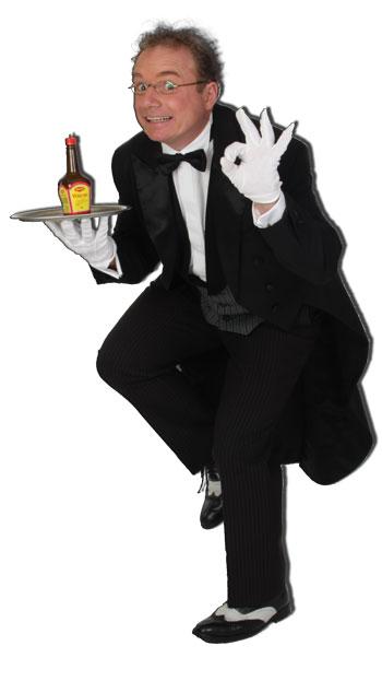 Comedykellner bei Ihrer Hochzeit buchen