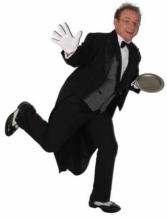 Butler für Ihre veranstaltung buchen oder die Hochzeit mieten