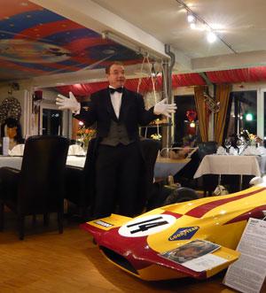 Spasskellner aus Tübingen beim Spielzeug- und Automuseum Tübingen